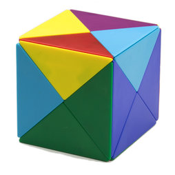 tangram w rfel aus 24 magnetischen tetraedern m 41 ferrit magnete supermagnete. Black Bedroom Furniture Sets. Home Design Ideas