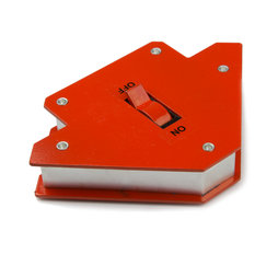 WS-WLD-01, Welding helper small, magnetic, with on/off switch, side length approx. 9,5 cm