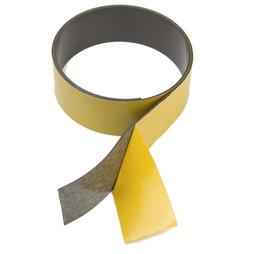 MT-40-STIC, Magnetic adhesive tape ferrite 40 mm, self-adhesive magnetic tape, rolls of 1 m / 5 m / 25 m