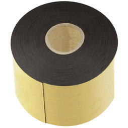 MT-150-STIC/25m, Magnetic adhesive tape ferrite 150 mm, self-adhesive magnetic tape, roll at 25 m