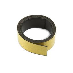 MT-40-STIC/01m, Cinta magnética adhesiva ferrita 40 mm, cinta magnética autoadhesiva, rollo de 1 m