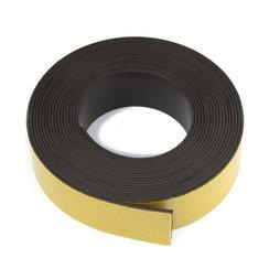 MT-40-STIC/05m, Cinta magnética adhesiva ferrita 40 mm, cinta magnética autoadhesiva, rollo de 5 m