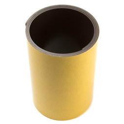 MT-150-STIC/01m, Magnetic adhesive tape ferrite 150 mm, self-adhesive magnetic tape, roll at 1 m