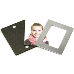 FRM-06, Picture frame 6${dec}6 x 5 cm, with magnetic catch, magnetic backside, set of 2
