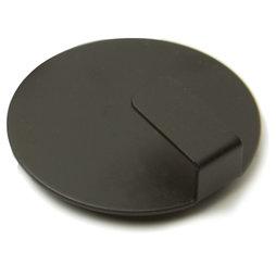 LIV-61/black, Magneethaken Solid, stijlvolle magnetische haken, set van 4, zwart