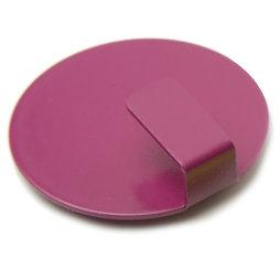 LIV-61/bordeaux, Magneethaken Solid, stijlvolle magnetische haken, set van 4, wijnrood