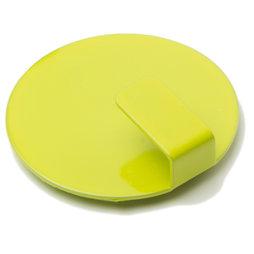 LIV-61/lime, Magneethaken Solid, stijlvolle magnetische haken, set van 4, gifgroen