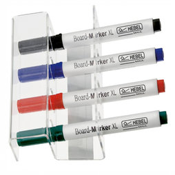 BA-009, Holder for whiteboard markers magnetic, for 4 markers, markers not included in delivery