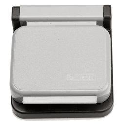 BA-013/grey, Magnetklammern MAUL, selbstklebend, 10er-Set, grau