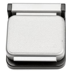 BA-013/silver, Magnetklammern MAUL, selbstklebend, 10er-Set, silberfarben