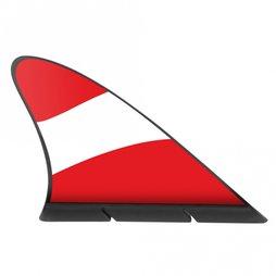 M-42/aut, Aileron de requin drapeau, drapeau magnétique pour la voiture, Autriche