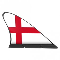 M-42/eng, Aileron de requin drapeau, drapeau magnétique pour la voiture, Angleterre