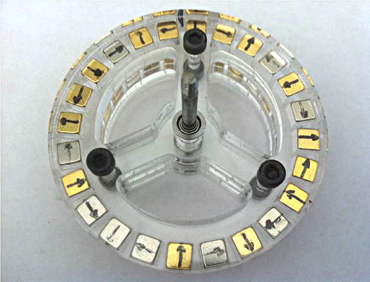Magnet applications halbach array without glue for Halbach array motor generator